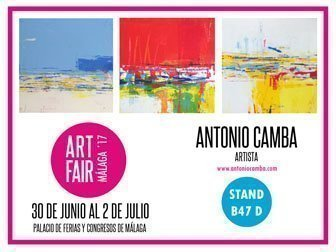 Antonio Camba Art Fair Málaga